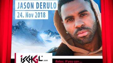 Party-Opening in Ischgl mit Jason Derulo Konzert<br>