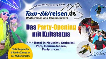 Trainingscamp & Party-Opening